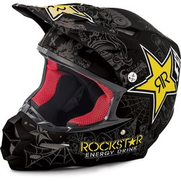 Fly Racing F2 Carbon Rockstar Helmet Black