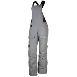 Klim Womens Jackson Gore-Tex Insulated Textile Snowmobile Bibs Grey