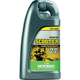 Motorex Scooter 2T Semi Synthetic Oil For 2-Stroke Engines 1 Liter 102248 Unpainted