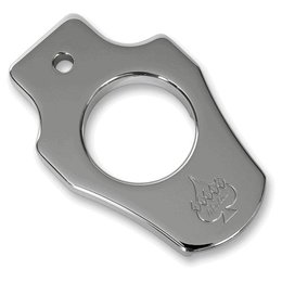 Chrome Klock Werks Ignition Switch Mount For Harley Softail 00-10