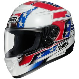 Red Shoei Qwest Banner Full Face Helmet