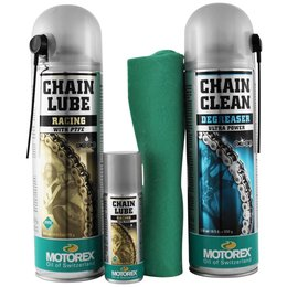 Motorex Racing Chain Clean Care Kit