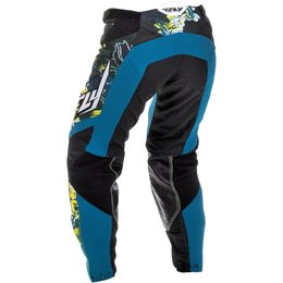 Fly Racing Womens Kinetic Race Pants Blue