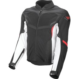 Fly Racing Mens Airraid Armored Textile Jacket White