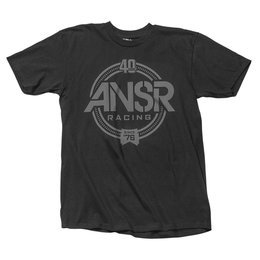 Answer Mens Forty Graphic T-Shirt Black