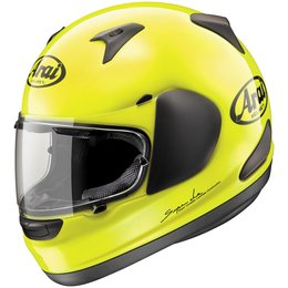 Fluorescent Yellow Arai Signet-q Full Face Helmet