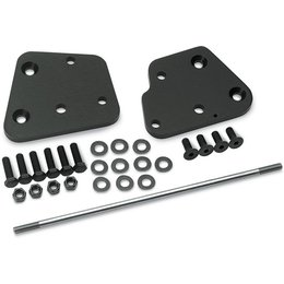 Black Plate, Stainless Steel Shift Rod Cycle Visions Go Forward Floorboard Ext Kit Flst 00-06
