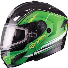GMax GM54S Terrain Modular Snow Helmet With Dual Pane Shield Black