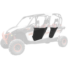 Dragonfire Racing HiBoy Doors For Can-Am Maverick Max Commander Max Black Black