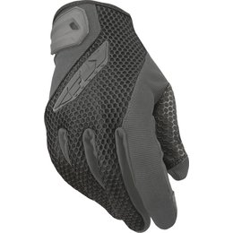 Fly Racing Mens Coolpro II Mesh Gloves Grey
