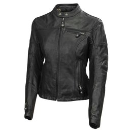 RSD Womens Maven Leather Riding Jacket Black