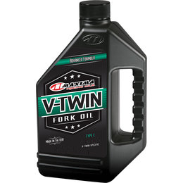 Maxima V-Twin Fork Oil 20WT 1 Quart 50-03901 Unpainted