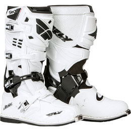 Fly Racing Mens Sector Boots White