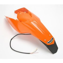 UFO Plastics Carbon Fiber Fender W/Spotlight KTM Enduro 98-03