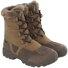 Klim Womens Jackson GTX Gore-Tex Insulated Snowmobile Boots Brown