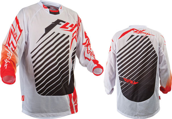 $29.95 Fly Racing Youth Kinetic Mesh Tech RS Jersey #139759