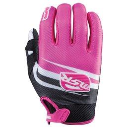 Black, Pink Msr Girls Starlet Gloves 2015 Black Pink