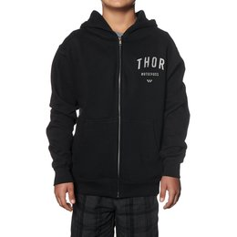 Thor Youth Boys Shop Zip Hoody Black