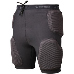 Forcefield Action Certified Sports Armored Shorts Black