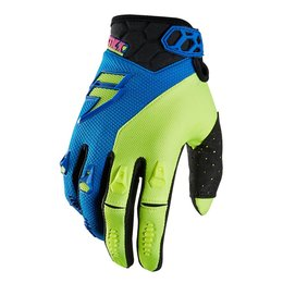 Shift Racing Mens Faction Mainline Gloves 2015 Blue