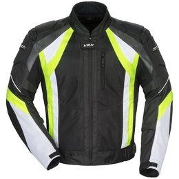 Cortech Mens VRX Air Armored Mesh Jacket Black
