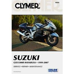 Clymer Repair Manual For Suzuki GSX1300R Hayabusa 99-07