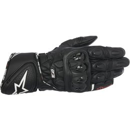 Alpinestars Mens GP Plus R Leather Riding Gloves Black