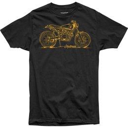 Thor Mens Hallman Collection Braap Premium Fit T-Shirt Black
