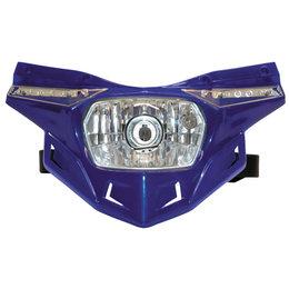 UFO Plastic Stealth Headlight Universal Blue PF01715-089