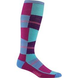 Divas Womens Snow Cube Pro Socks Blue