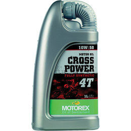 Motorex Cross Power 4T Full Synthetic Oil For 4-Stroke Engines 10W50 1 Liter Unpainted