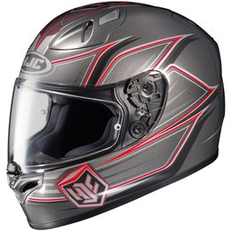 Black Hjc Mens Fg-17 Banshee Full Face Helmet 2014