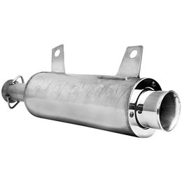 Stainless Steel Muffler/stainless Steel End Cap Gibson Slip-on Exhaust Stainless Steel For Yamaha Rhino 700 08-10