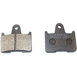 SPI Semi-Metallic Snowmobile Brake Pads DOT Approved Pair 05-152-50 Unpainted