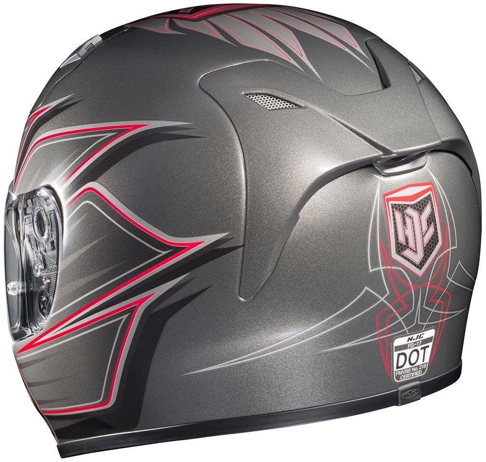 Hjc Fg 17 >> $199.99 HJC Mens FG-17 Banshee Full Face Helmet 2014 #197077