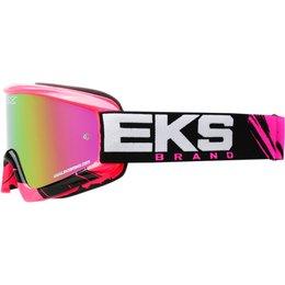 EKS Brand GOX X-Fade Volcano Goggles Pink