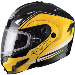 GMax GM54S Terrain Modular Snow Helmet With Dual Pane Shield Black