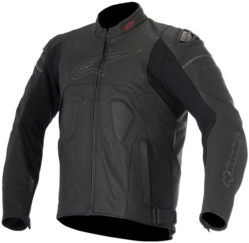 Armored leather jacket