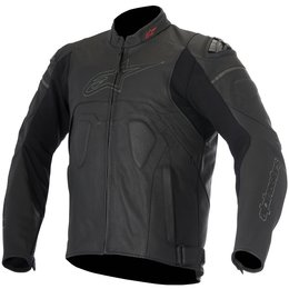 Alpinestars Mens Core Airflow Armored Leather Jacket Black