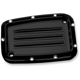 Covingtons Dimpled Clutch Master Cylinder Cover Harley Touring Black C1168-B Black