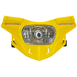 UFO Plastic Stealth Headlight Universal Yellow PF01715-102