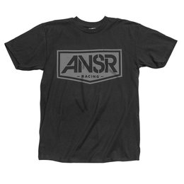 Answer Mens Shield Graphic T-Shirt Black