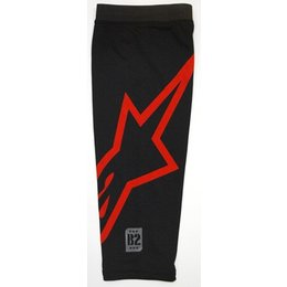 Black Alpinestars B2 Knee Brace Sleeve
