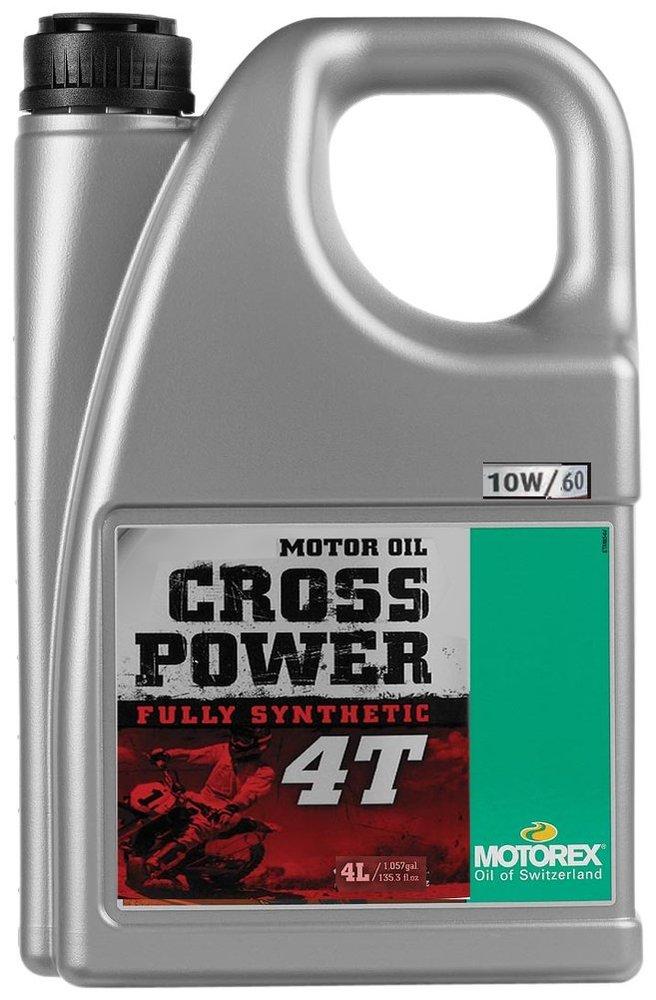 Full Synthetic Oil >> 76 50 Motorex Cross Power 4t Full Synthetic Oil For 4 956386