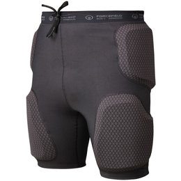Forcefield Action Certified Pro Armored Shorts Black