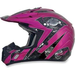 Fuchsia Afx Womens Fx-17 Fx17 Gear Helmet