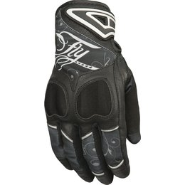 Fly Racing Womens Venus Textile Gloves Black