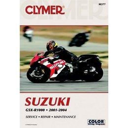 Clymer Repair Manual For Suzuki GSX-R1000 GSXR-1000 01-04
