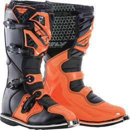 Fly Racing Youth Boys Maverick Boots Orange