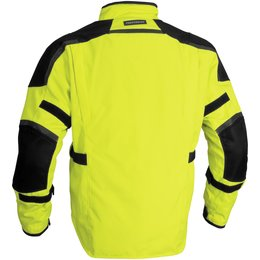 Day Glo Yellow Firstgear Jaunt T2 Textile Jacket Tall